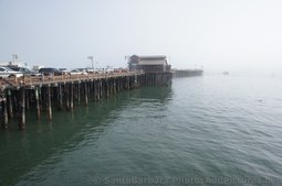 Photos of the Cool Stearns Wharf in SB
