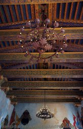 Chaneliers inside Santa Barbara County Courthouse Wedding Chapel.jpg