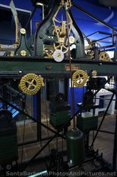 Clock Mechanism made by Seth Thomas Clock Co. at Bisno Schall Gallery within Santa Barbara County Courthouse.jpg