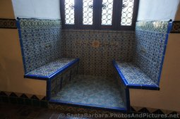 Tiled Bench Sitting Area at the Santa Barbara County Courthouse.jpg
