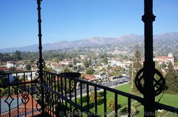View of Mountain Range from Santa Barbara County Courthouse Tower.jpg