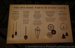 5 Basic Parts of Every Mechanical Clock as explained at Santa Barbara County Courthouse Bisno Schall Gallery.jpg