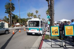 Santa Barbara Harbor Port Dock Shuttle Bus and Cost for Cruise Ship Guests.jpg