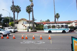 Santa Barbara Downtown Waterfront Electric Shuttle in motion.jpg