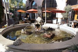 Fountain with Turtles at La Arcada Santa Barbara.jpg