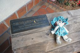 Generation Bridge Sculpture & Doll at La Arcada Santa Barbara.jpg