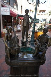 Mozart Trio Fountain Sculpture at La Arcada Santa Barbara.jpg