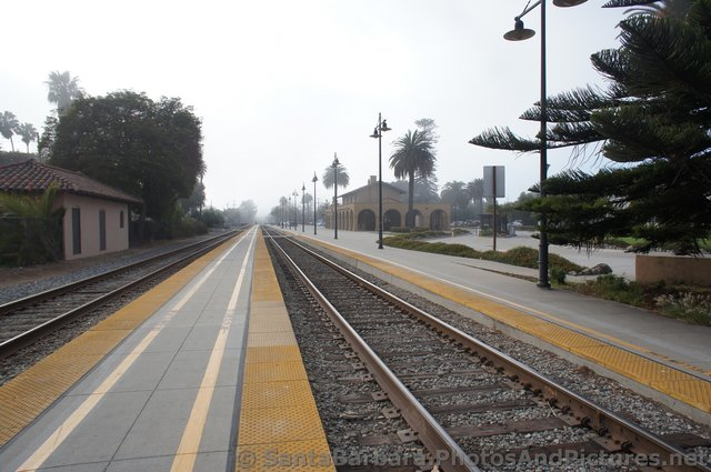 Railroad Tracks and Station in Santa Barbara.jpg